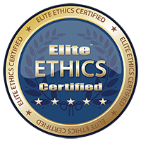 Elite Ethics Certification Badge