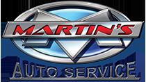 Martin's Auto Service Logo